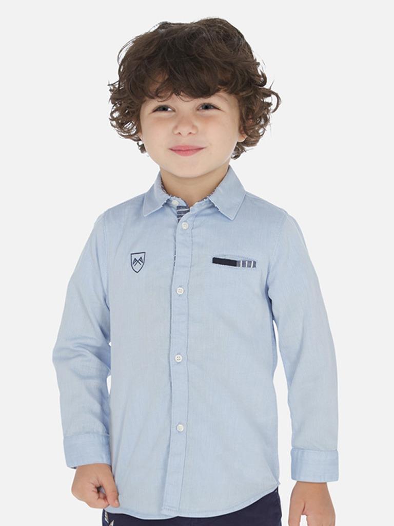 Camisa coderas niño SLIM