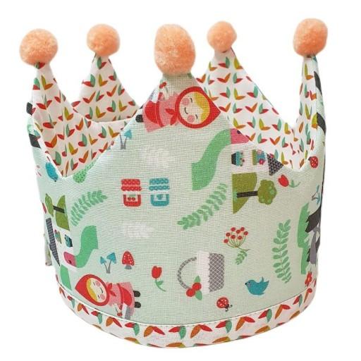 Corona de cumpleaños CAPERUCITA ROJA [1]