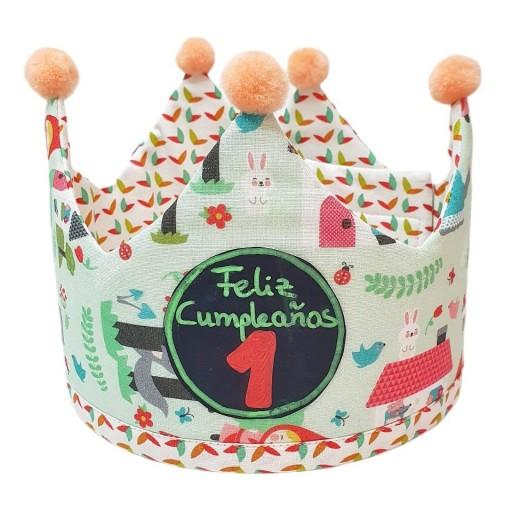 Corona de cumpleaños CAPERUCITA ROJA
