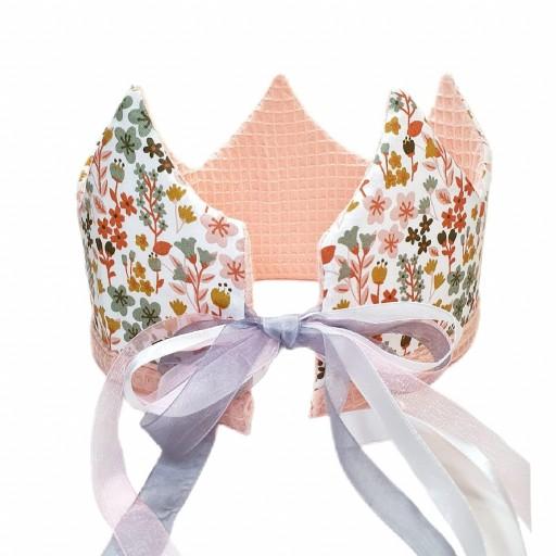 Corona de cumpleaños PINK FLOWERS [1]