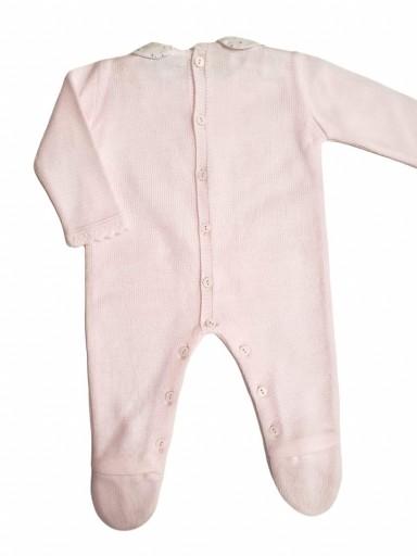 Pelele bebé ARAN DELICADO rosa [1]