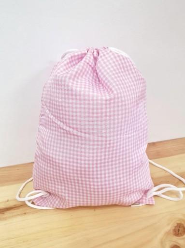 Bolsa merienda VICHY rosa