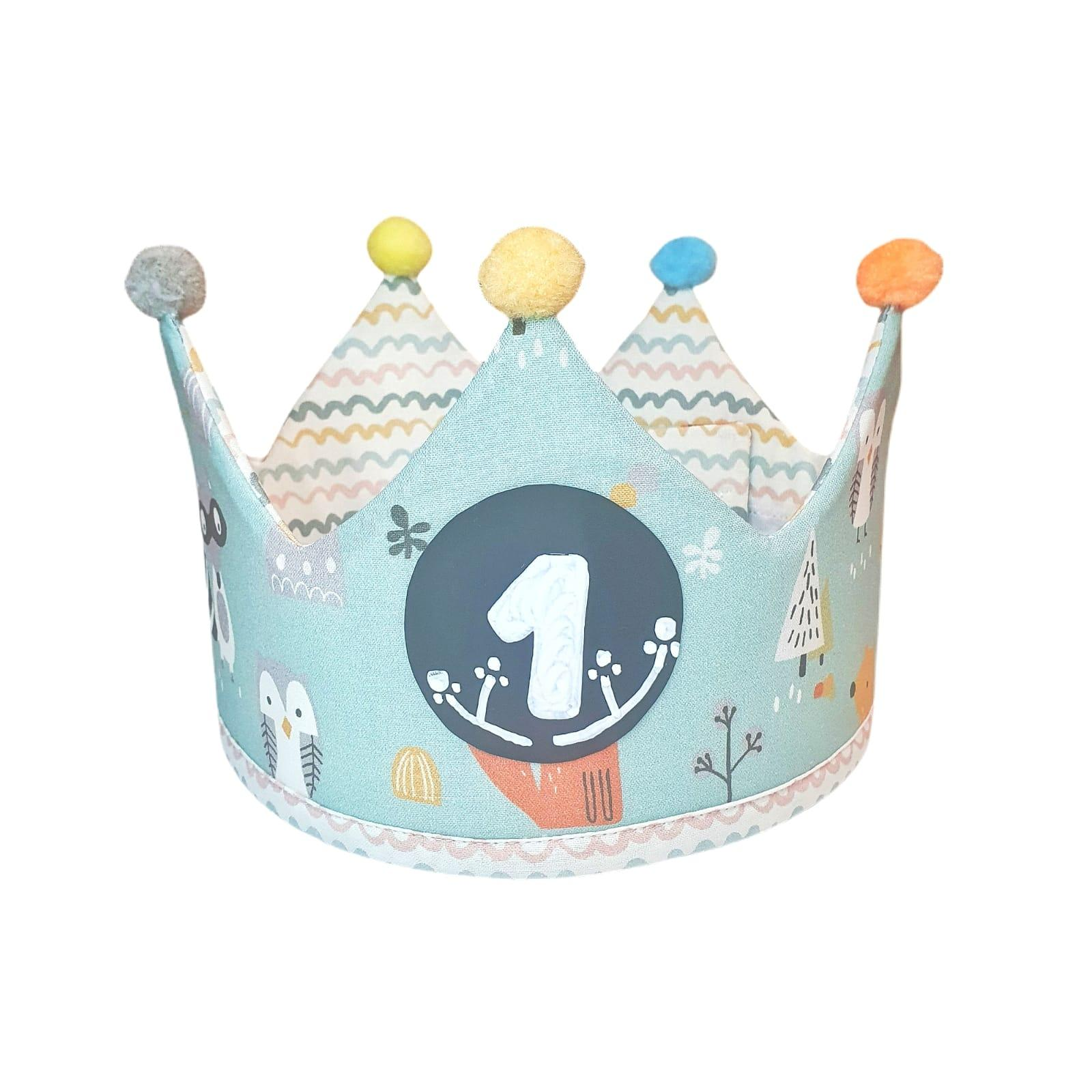 Corona de cumpleaños FOREST LINES