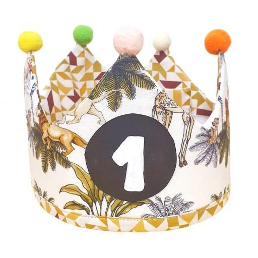 Corona de cumpleaños REY LEÓN