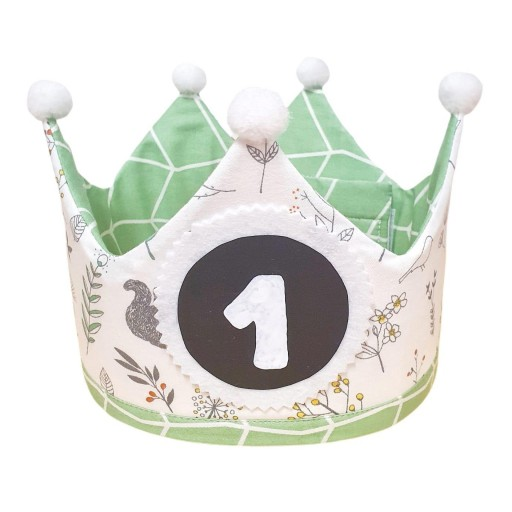 Corona de cumpleaños SWEET GREEN