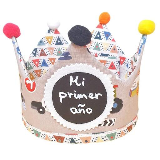 Corona de cumpleaños CARS