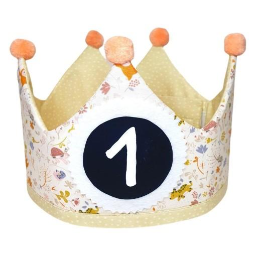 Corona de cumpleaños SWEET JUNGLE
