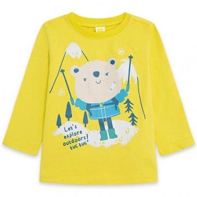 Camiseta bebé LET'S EXPLORE
