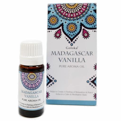 Aceite Aromático Puro Goloka -Vainilla de Madagascar 10 ml