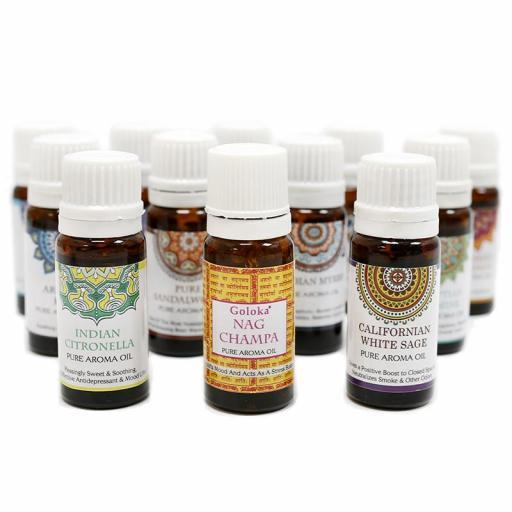 Aceite Aromático Puro Goloka - Salvia Blanca 10 ml [1]