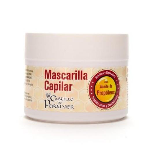MASCARILLA CAPILAR AL ACEITE DE PROPÓLEOS (300 ML)