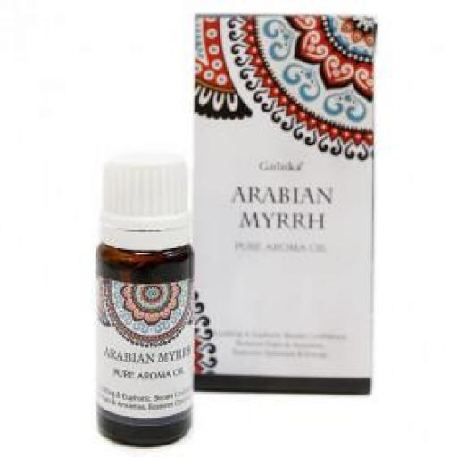 Aceite Aromático Puro Goloka - Mirra 10 ml