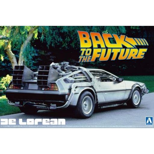 1/24 Delorean Dmc Back To The Future 1