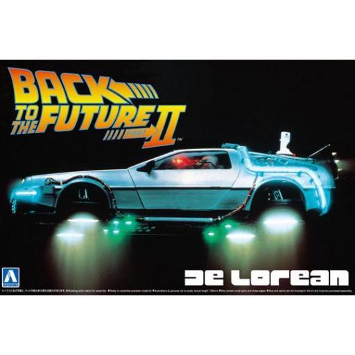 1/24 Back To The Future II DeLorean