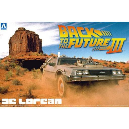 1/24 Back To The Future III DeLorean