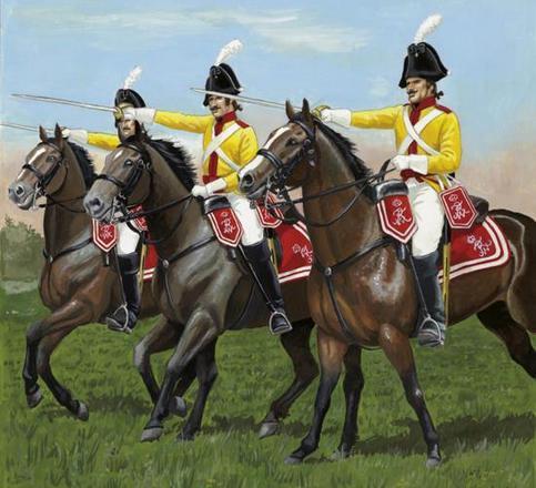 1/72 Coraceros Prusianos, Regimiento Montado K2