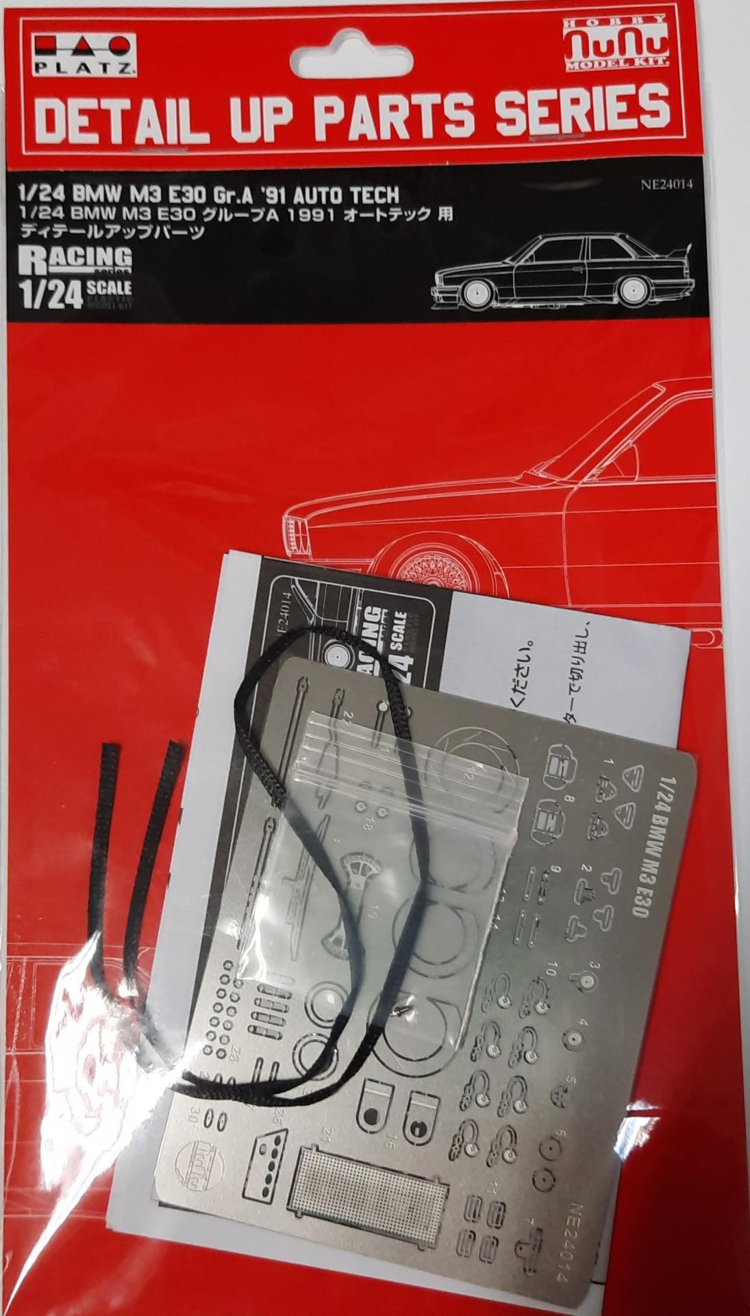 1/24 BMW M3 E30 Gr.A 91 Auto Tech Detail Up Parts