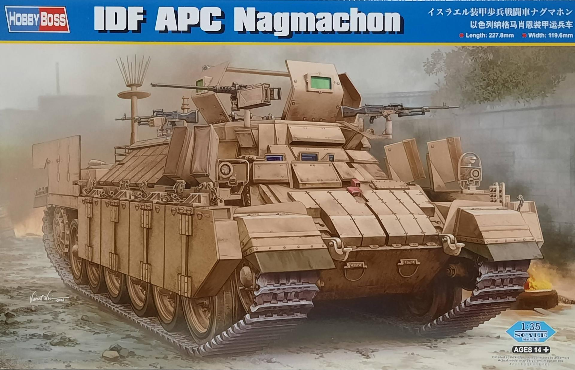 1/35 IDF APC Nagmachon