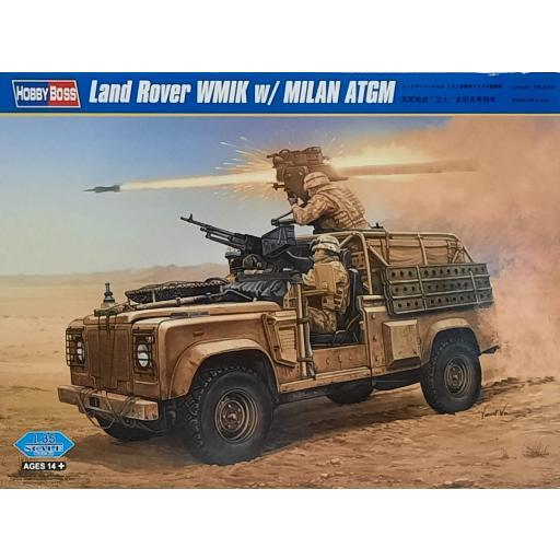 1/35 Land Rover WMIK w/MILAN ATGM