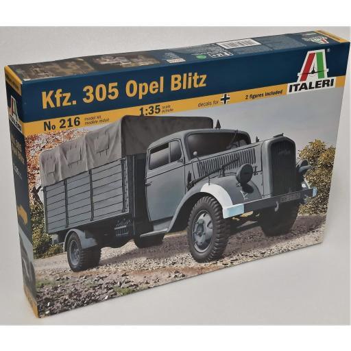 1/35 Camión Alemán Kfz. 305 Opel Blitz