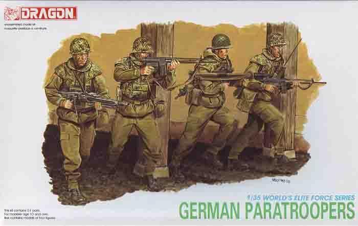 1/35 Paracaidistas Alemanes