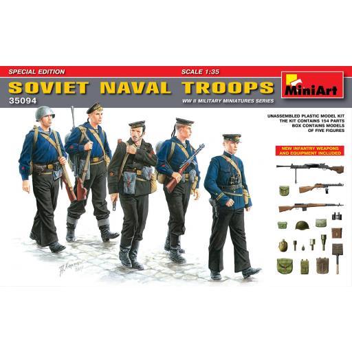 1/35 Soviet Naval Troops WWII