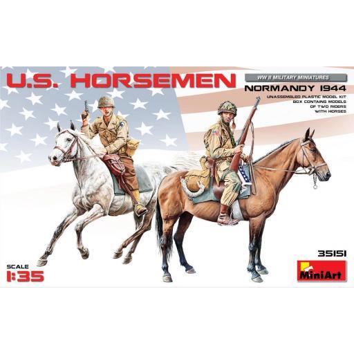 1/35 U.S. Horsemen Normandy 1944