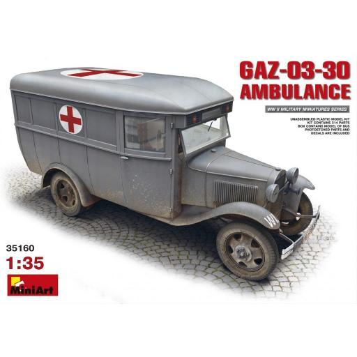 1/35 GAZ03-30 Ambulance