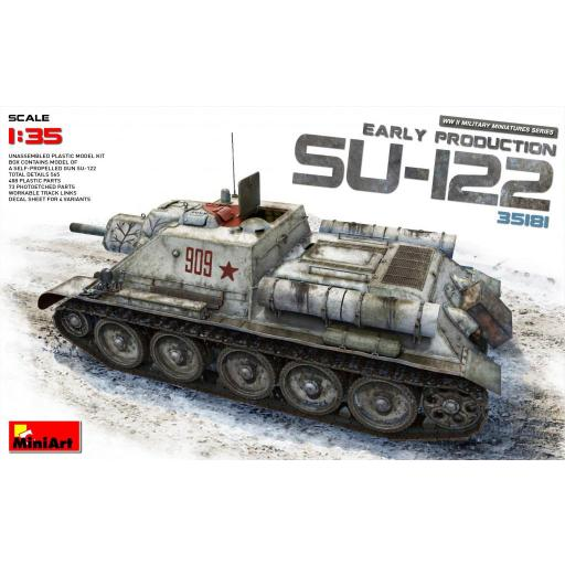 1/35 SU-122 Early Production
