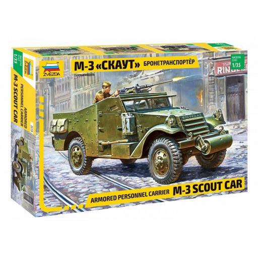 1/35 M-3 Armoured Scout Car