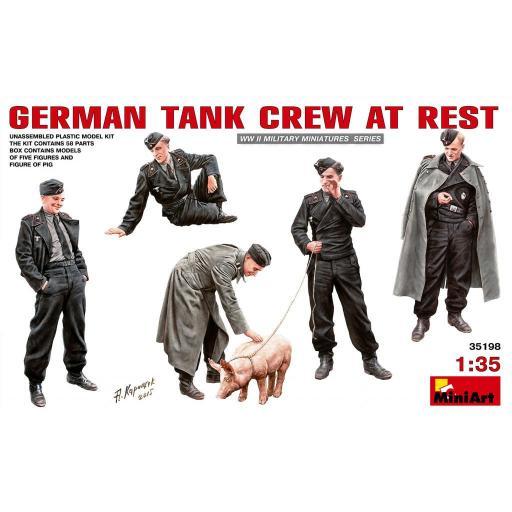 1/35 German Tank Crew at Rest