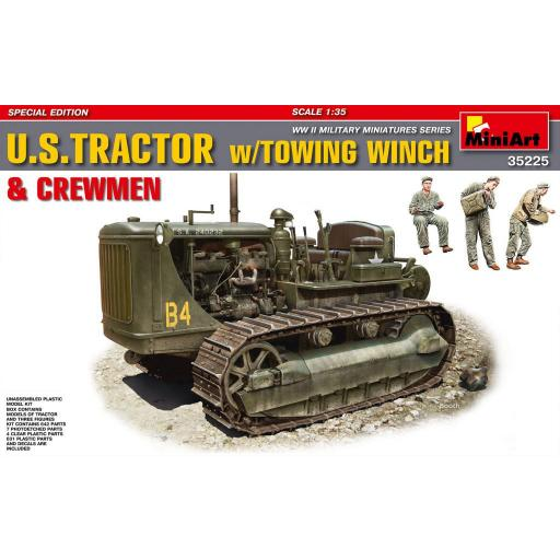 1/35 U.S. Tractor w/ Towing Winch & Crewmen