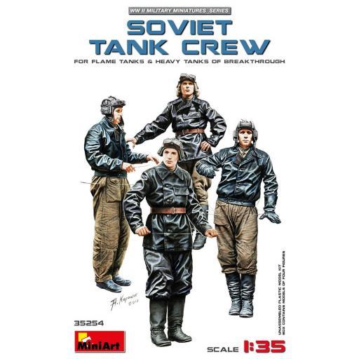 1/35 Soviet Tank Crew