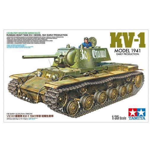 1/35 Tanque Pesado Ruso KV-1 Modelo 1941 Inicial