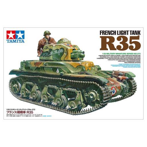 1/35 Tanque Ligero Francés R35