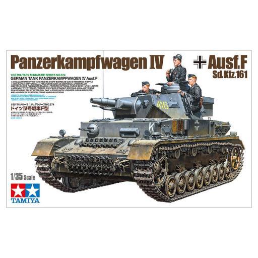 1/35 Tanque Alemán Panzer IV Ausf F.