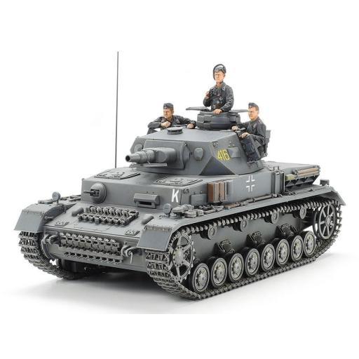 1/35 Tanque Alemán Panzer IV Ausf F.  [1]