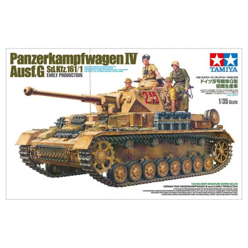 1/35 Tanque Alemán Panzer IV Ausf G Inicial