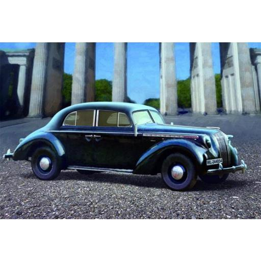 1/35 Opel Admiral Saloon. Coche Militar Alemán WWII [1]