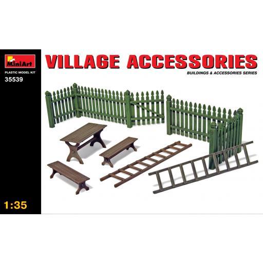 1/35 Village Accesories