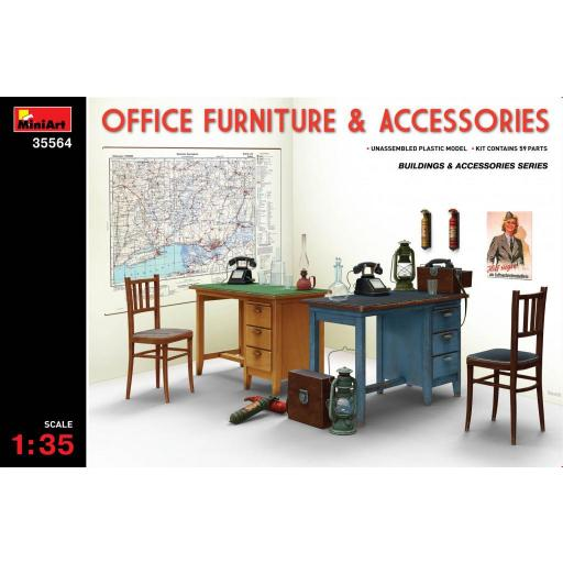 1/35 Office Furniture & Accesories