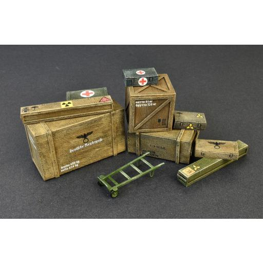 1/35 Wooden Boxes & Crates [2]