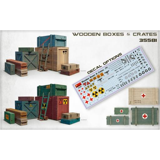 1/35 Wooden Boxes & Crates [1]