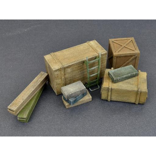 1/35 Wooden Boxes & Crates [3]