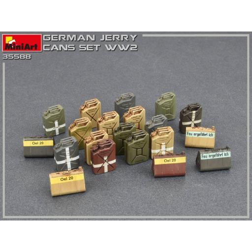 1/35 German Jerry Cans Set WW2 [2]