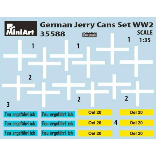 1/35 German Jerry Cans Set WW2 [1]