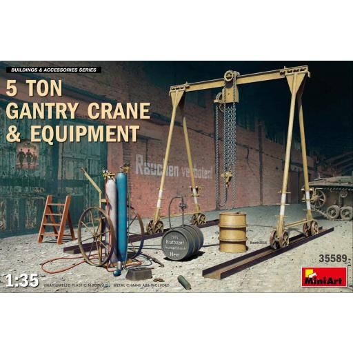 1/35 5Ton Gantry Crane & Equipment