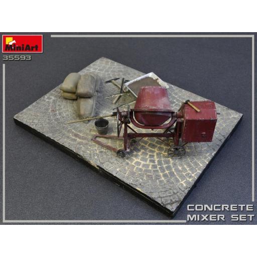 1/35 Concrete Mixer Set [2]
