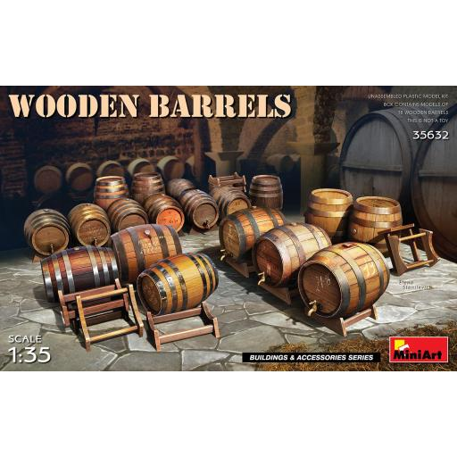 1/35 Wooden Barrels