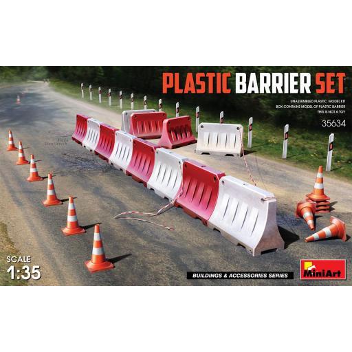 1/35 Plastic Barrier Set